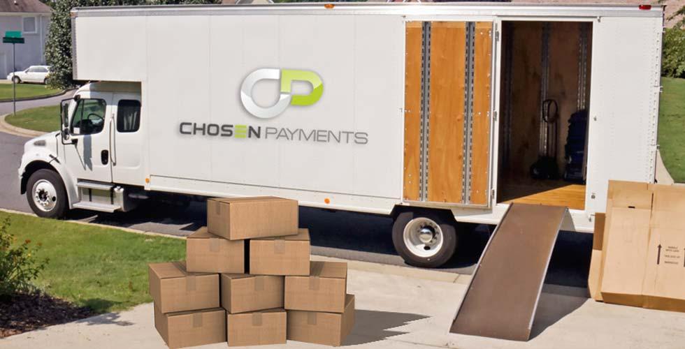 Chosen Payments is the MOST TRUSTED Credit Card Processor in the Moving and Storage Industry!