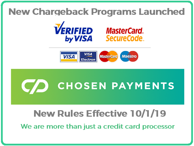 NEW CHARGEBACK PGM